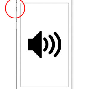 iPod touch volume knoppen